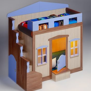 Кровать домик FT Home 1 boy (цвета разные)
