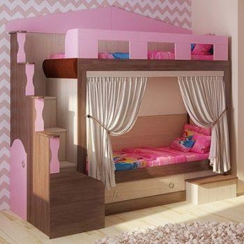Кровать домик FT Home 2 (цвета разные)