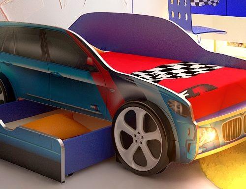 krovat-jeep-bmw-x5-blue