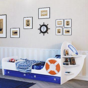 Кровать корабль Лайнер-1