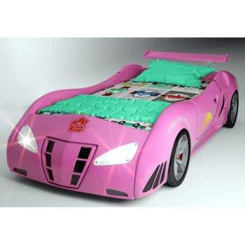 Кровать-машина для девочки Enzo FK (цвета разные)
