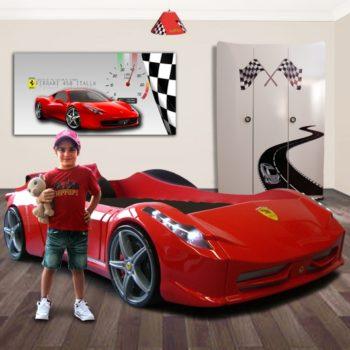 Кровать машина Ferrari FF (цвета разные)