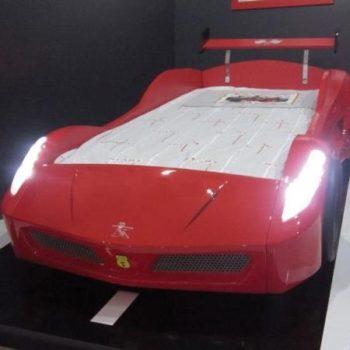 Кровать машина Ferrari Nitro
