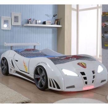 Кровать в виде машины Ferrari FK (цвета разные)