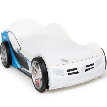 Кровать машина AVS-Laman blueline