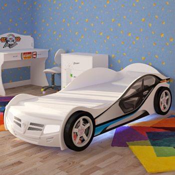 Кровать машина с подсветкой