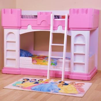 Двухэтажная кровать замок Princess castle