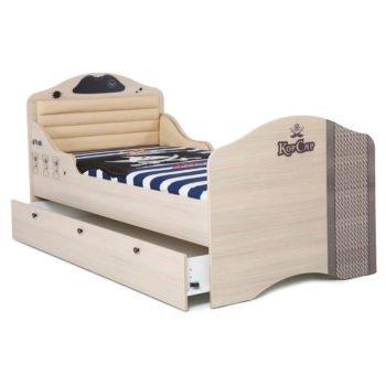 Кровать в виде корабля Юнга корсар 1 (2 цвета)