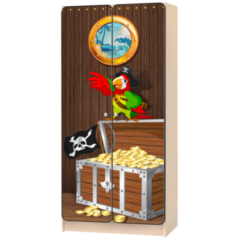 Детский шкаф «Пираты»