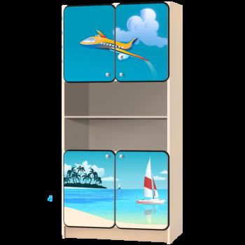 Детский стеллаж «Море»