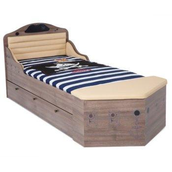 Кровать корабль для мальчика Pirates-2 (2 цвета)