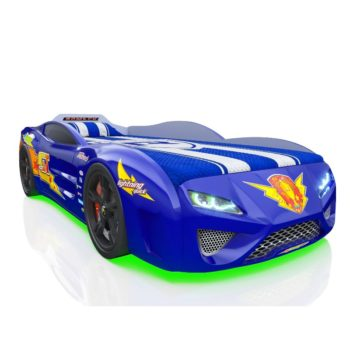 Детская кровать машина RR Kinder Dream синяя