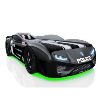 Детская кровать машина RR Kinder Dream полиция