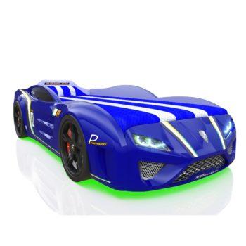 Кровать машинка RR Kinder Sport синяя