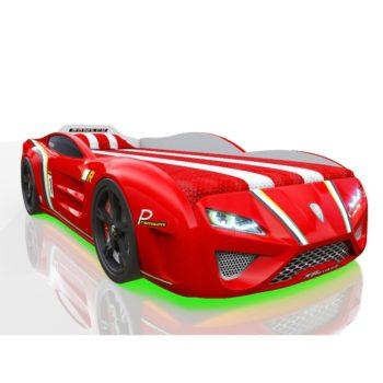 Кровать машинка RR Kinder Sport красная