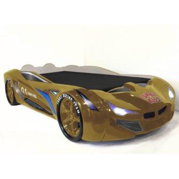 Кровать-машина BMW FK concept золотая