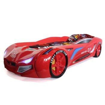 Кровать-машина BMW FK concept красная